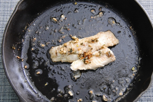 lemon butter pollock